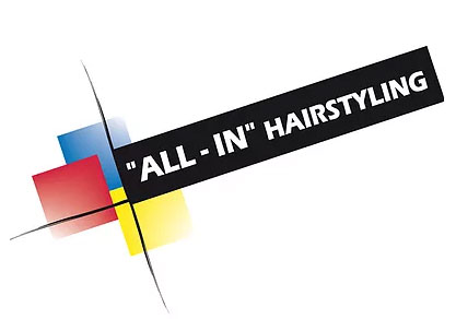 """ALL – IN"" Hairstyling Logo"